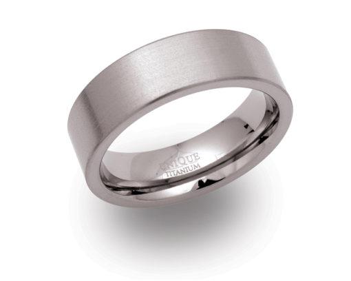 Titánból készült női gyűrű, női ékszerek, női titán gyűrű